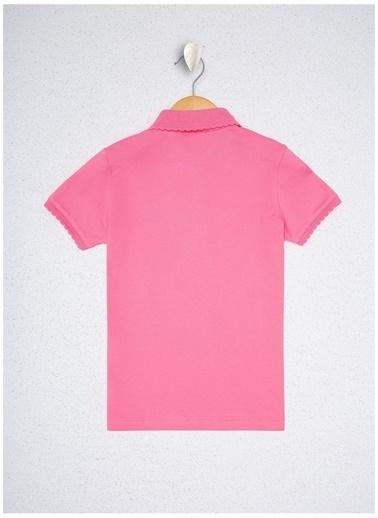 U.S. Polo Assn. U.S. Polo Assn. Pembe Kız Çocuk T-Shirt Pembe
